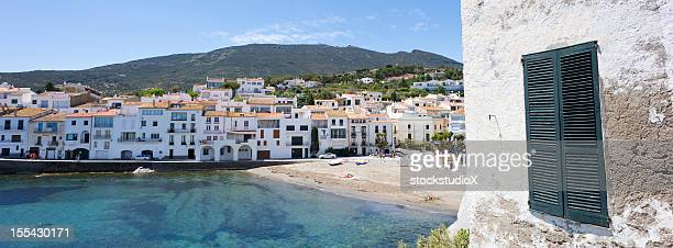 mediterranean landscape - cadaques stock pictures, royalty-free photos & images