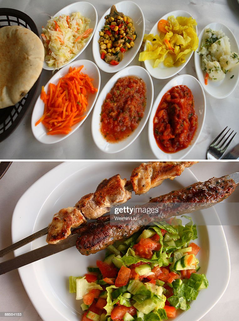 Mediterranean Lunch : Stock Photo
