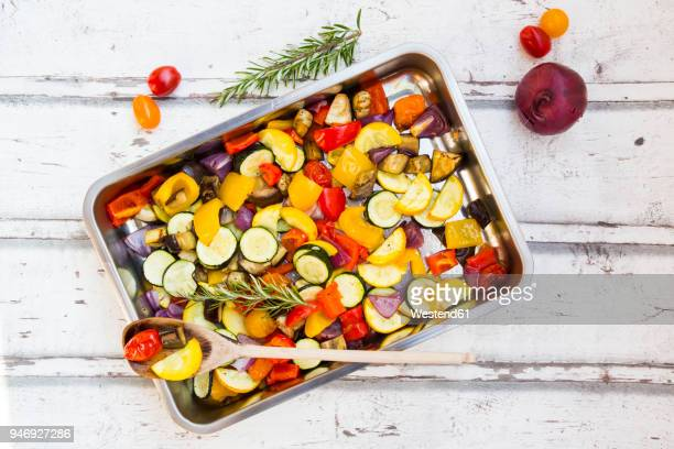 Mediterranean oven vegetables
