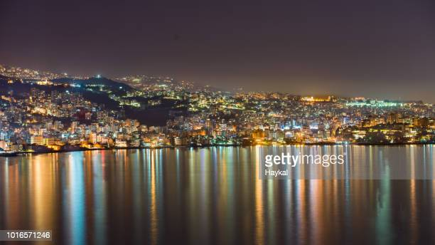 mediterranean reflections - beirut stock pictures, royalty-free photos & images