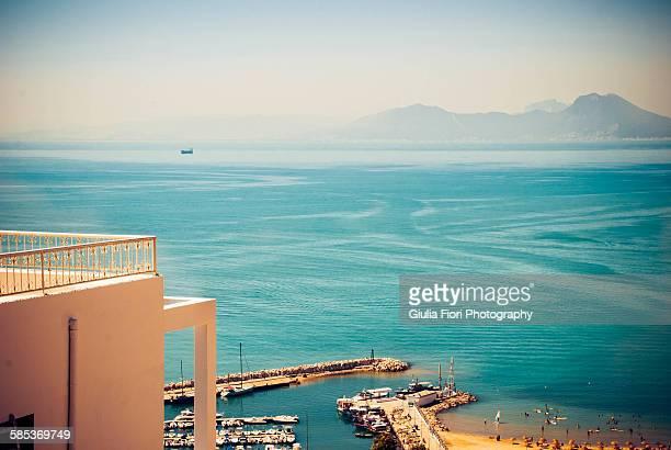 Mediterranean Sea from Sidi Bou Said