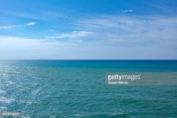 Mediterranean sea on a sunny day
