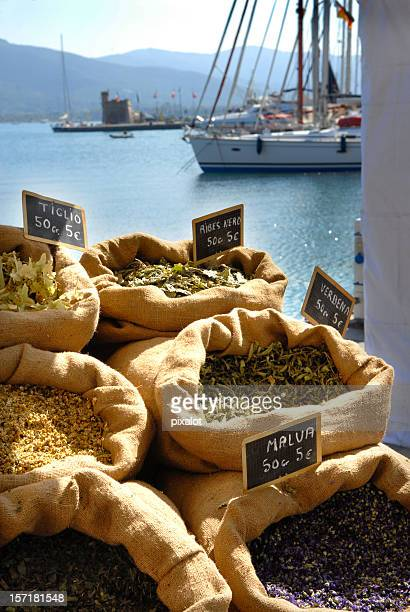 mediterranean spice market - livorno stock pictures, royalty-free photos & images