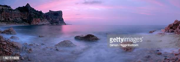 mediterranean sunrise, spain - simon higginbottom stock pictures, royalty-free photos & images