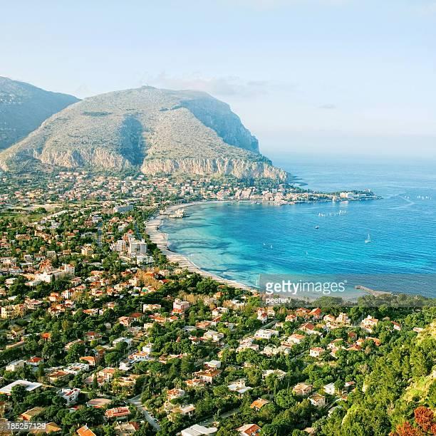 Blick auf das Mittelmeer.