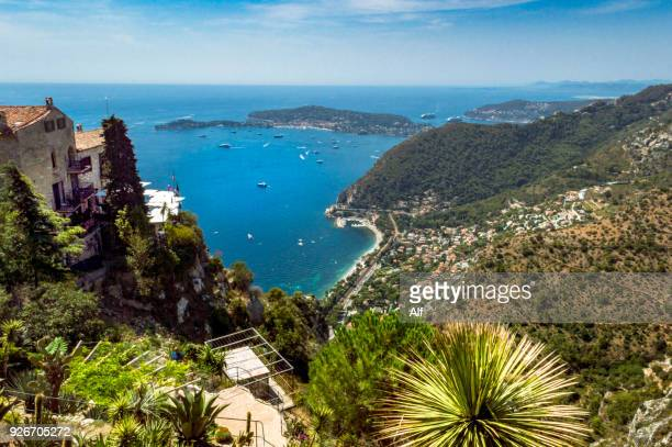 Mediterranean views from the exotic Garden of Eze, French Riviera, France