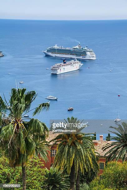 style méditerranéen bateaux de croisière - paquebot france photos et images de collection