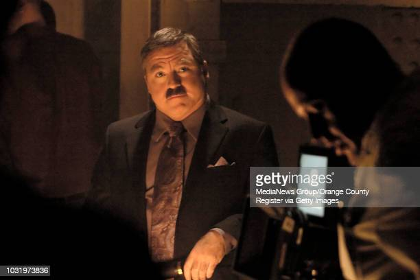 8/10/05 Medium James Van Praagh walks the halls of the Queen Mary during filming of The Learning Channel special 'Possessed Possessions' on August 10...