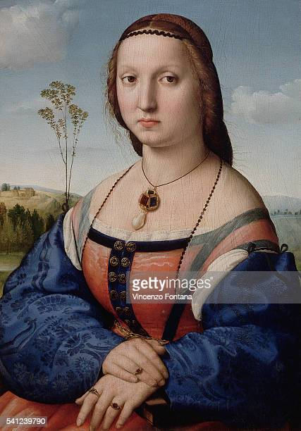 Oil on panel|Dimensions: 63 x 45 cm|Creation date: ca. 1506|Located in: Palazzo Pitti|Located in: Palazzo Pitti, Florence, Italy