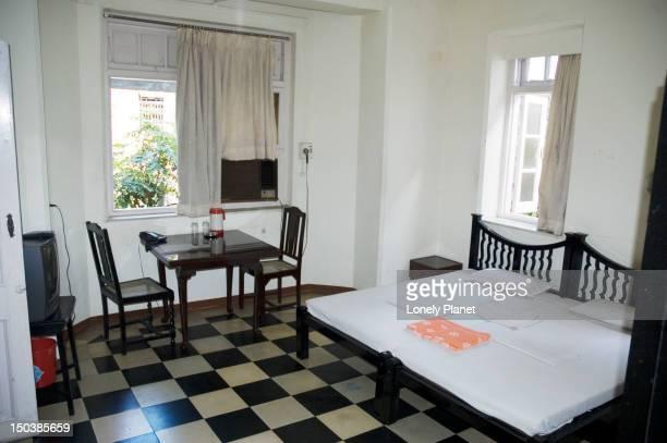Medium size room at Bentley's Hotel.
