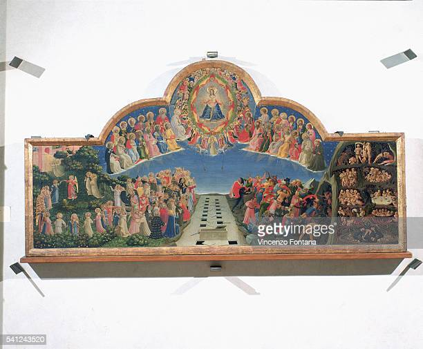 Tempera on wood panel|Dimensions 105 x 210 cm|Creation date ca 1431|Located in Museo di San Marco Florence Italy