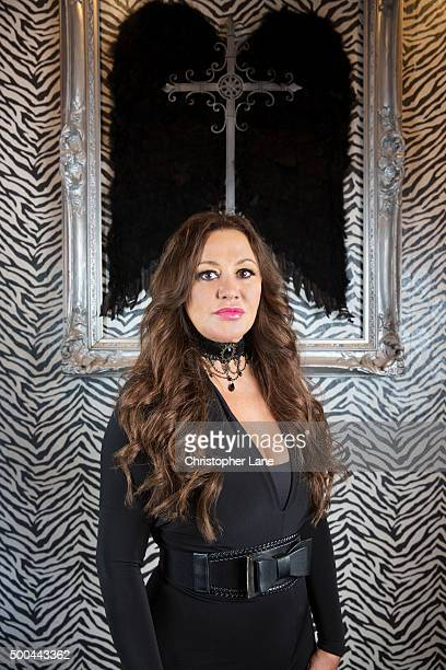 Medium Tia Belle is photographed for New Jersey Monthly on August 12 2015 in Ridgewood New Jersey
