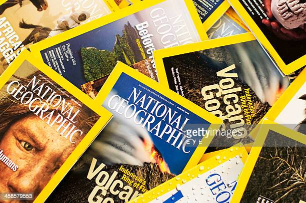 Medley of Nat Geo Magazines