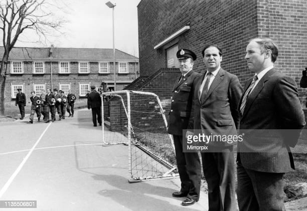 Medomsley Detention Centre County Durham Home Secretary Leon Brittan visits 26th April 1985