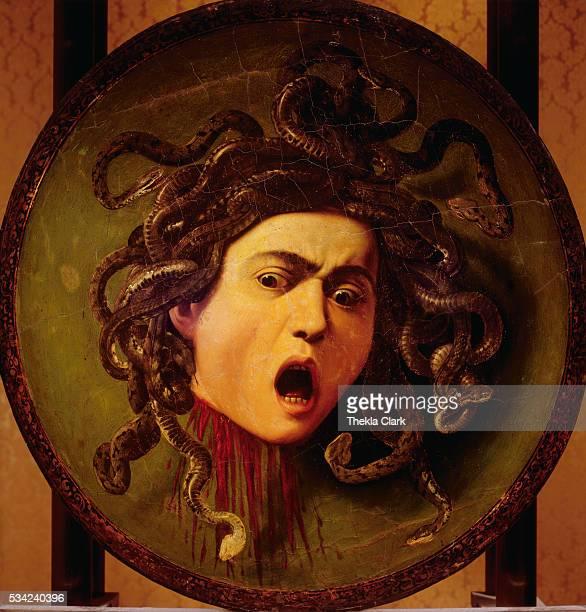 Medusa by Michelangelo Merisi da Caravaggio