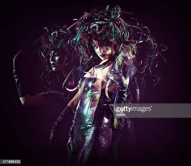 medusa - mythological character stock pictures, royalty-free photos & images