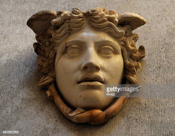 Medusa Rondanini The Gorgon The model for this Roman work was the Gorgon head on the shield of the cult statue in the Parthemon on the Acropolis in...