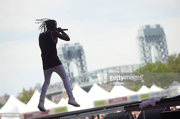 Meechy Darko of Flatbush ZOMBiES performs onstage at the 2016 Panorama NYC Festival Day 3 at Randall's Island on July 24 2016 in New York City