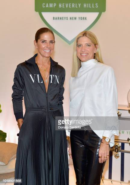 Meehan O'Neill and Petra Flannery attend Barneys New York Hosts Celebration In Support Of Heart Of Los Angeles at Barneys New York Beverly Hills on...