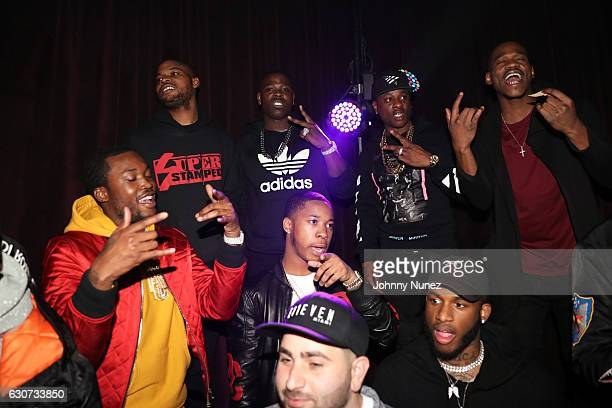 Meek Mill and Casanova attend the New Year's Eve Preparty With Meek Mill on December 30 2016 in New York City