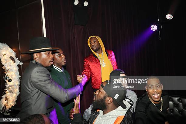 Meek Mill attends his New Year's Eve Preparty on December 30 2016 in New York City