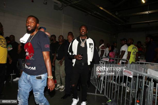 Meek Mill attends HOT 97 Summer Jam 2017 at MetLife Stadium on June 11 2017 in East Rutherford New Jersey