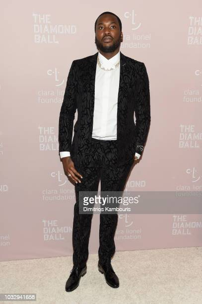 Meek Mill attends Rihanna's 4th Annual Diamond Ball benefitting The Clara Lionel Foundation at Cipriani Wall Street on September 13, 2018 in New York...