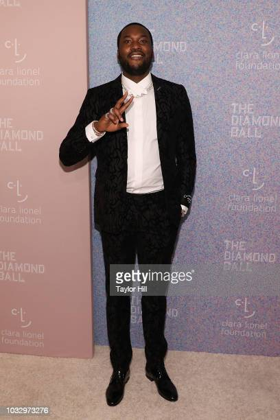 Meek Mill attends the 2018 Diamond Ball at Cipriani Wall Street on September 13 2018 in New York City