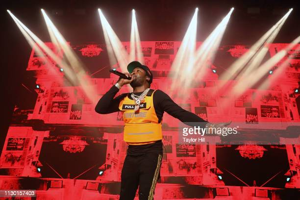 Meek Mill performs at Hammerstein Ballroom on March 12, 2019 in New York City.