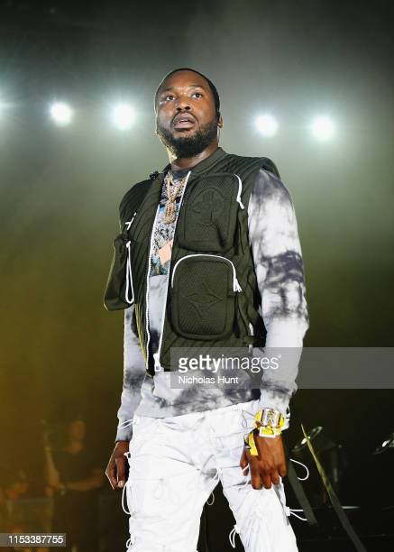 Meek Mill performs at Summer Jam 2019 at MetLife Stadium on June 02, 2019 in East Rutherford, New Jersey.