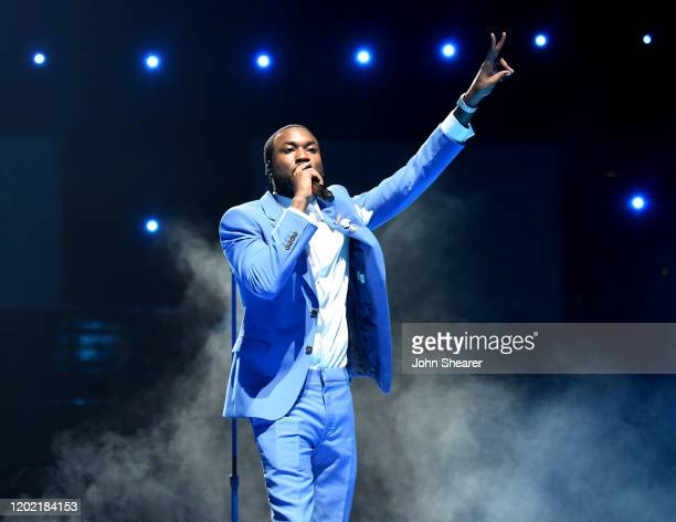 Meek Mill performs at the 62nd Annual GRAMMY Awards on January 26, 2020 in Los Angeles, California.