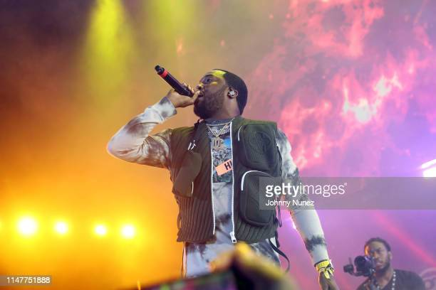 Meek Mill performs during Summer Jam 2019 at MetLife Stadium on June 2 2019 in East Rutherford New Jersey