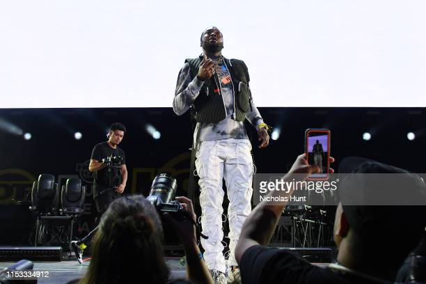 Meek Mill performs during Summer Jam 2019 at MetLife Stadium on June 02 2019 in East Rutherford New Jersey