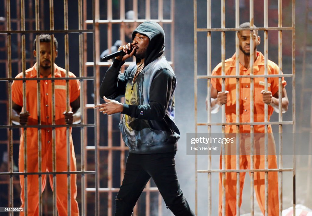 2018 BET Awards - Show : News Photo