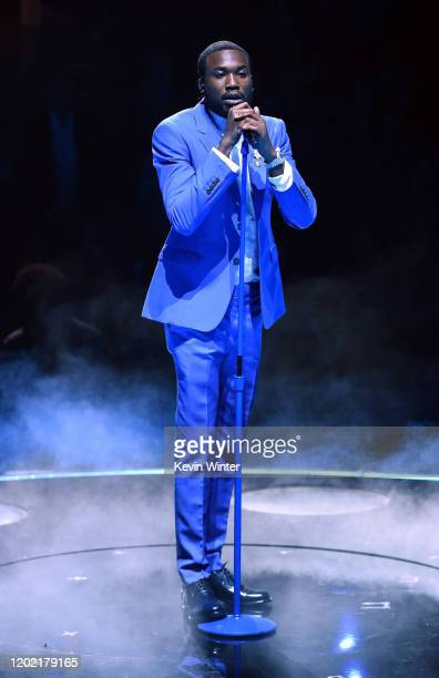 Meek Mill performs onstage during the 62nd Annual GRAMMY Awards at STAPLES Center on January 26, 2020 in Los Angeles, California.