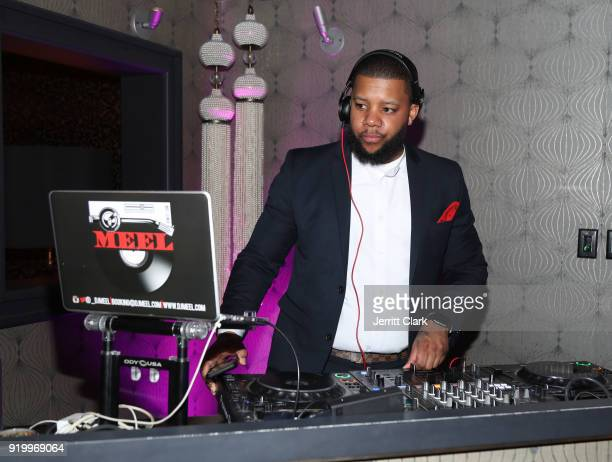 Meel spins the Klutch Sports Group More Than A Game Dinner Presented by Remy Martin at Beauty Essex on February 17 2018 in Los Angeles California