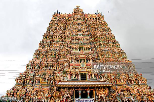 Meenakshi Amman Temple tower,Madurai