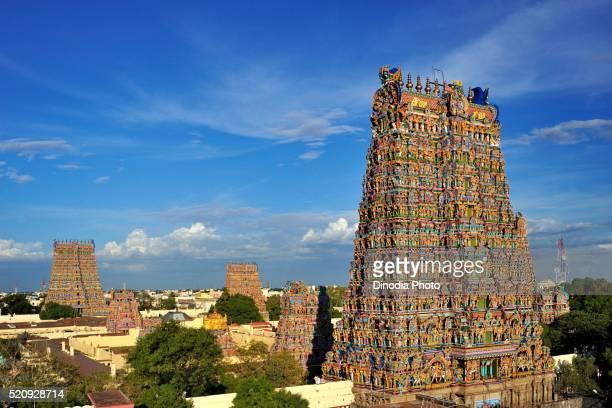 Meenakshi sundareswarar or meenakshi amman temple, Madurai, Tamil Nadu, India