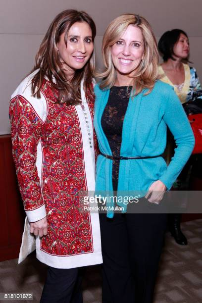 Meera Gandhi and Alisyn Camerota attend MEERA GANDHI And CHERIE BLAIR Host A Private Screening of GIVING BACK at The Disney Screening Room on...
