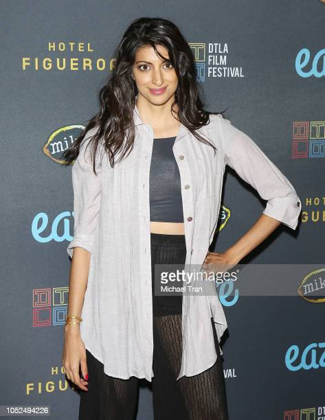 """Meera Rohit Kumbhani attends the 2018 Downtown Los Angeles Film Festival - """"All Creatures Here Below"""" """"Original Sin"""" And Perception"""" Press line held..."""