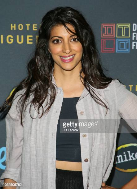 Meera Rohit Kumbhani attends the 2018 Downtown Los Angeles Film Festival - 'All Creatures Here Below' 'Original Sin' And Perception' Press line held...