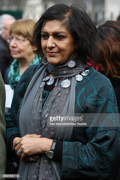 Meera Syal attends a Memorial Service for Sir Richard Attenborough at Westminster Abbey on March 17 2015 in London England