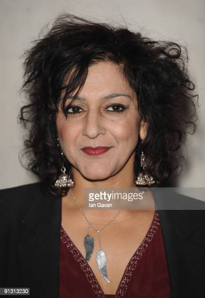 Meera Syal attends The Inspiration Awards for Women at Cadogan Hall on October 1 2009 in London England