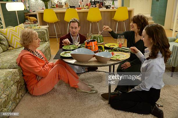 ENGELS Meet Irene Horowitz Episode 106 Pictured Jayne Eastwood as Delores Martino Scott Thompson as Harry Le Maire Andrea Martin as Ceil Engel Kacey...