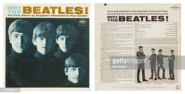 Meet The Beatles! Album Cover Front and Back