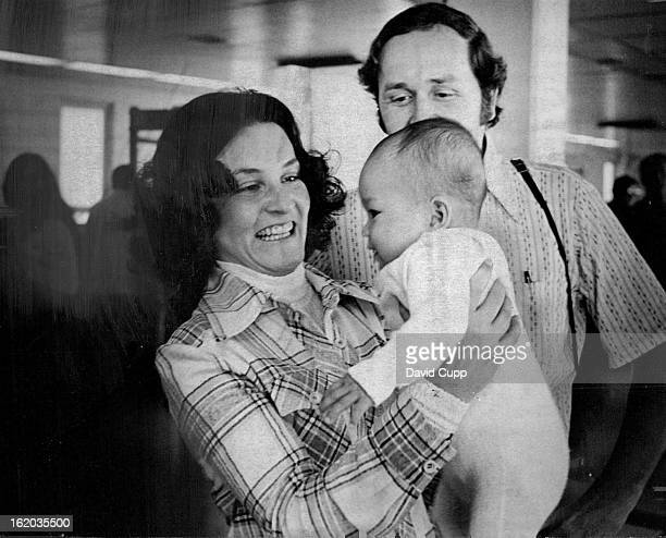 MAY 28 1974 MAY 30 1974 Meeting A New Daughter The expressions on the faces of Mr and Mrs Robert Hansen 5623 W Alder Little ***** indicate their...