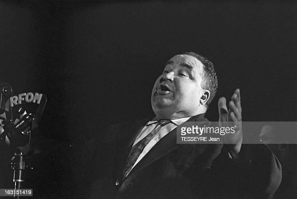 Meeting At The Mutualite For General Elections Of 1958 En France à Paris en novembre 1958 meeting à la mutualité de Georges BIDAULT fondateur du...