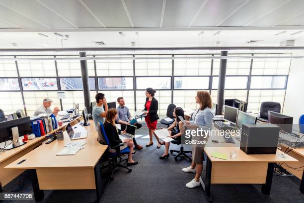 Meeting at the Office