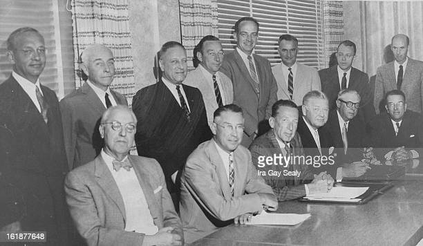 SEP 4 1956 Meeting in Denver Tuesday and Wednesday are directors of RamoWooldridge Corp Los Angeles Thompson Products Inc Cleveland and Pacific...