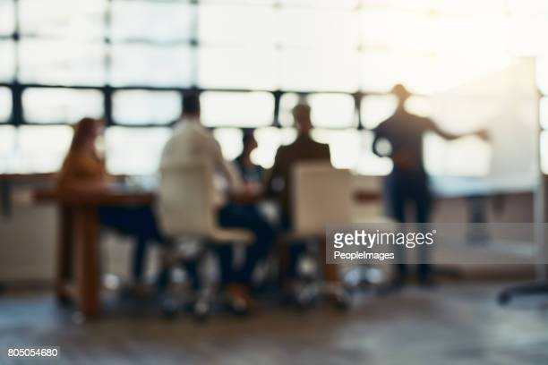 meeting in session - strategy stock photos and pictures